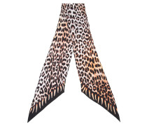 'Leopard's Teeth' Halstuch mit Print