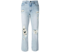 Destroyed Cult straight-leg jeans
