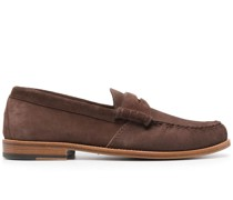 Penny-Loafer aus Wildleder