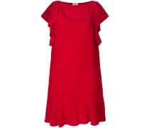 draped sleeve mini dress