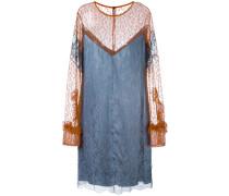 - Kleid mit floraler Spitze - women - Polyamid
