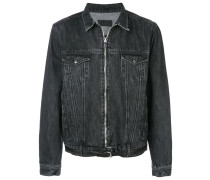 Jeansjacke mit Reißverschluss