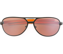 Pilotenbrille in Colour-Block-Optik