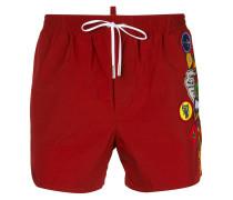 Boy Scout badge swim shorts