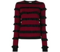 Sweatshirt mit Volants