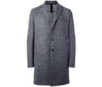Kastiger Tweed-Mantel