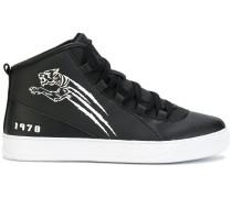 "High-Top-Sneakers mit ""Tiger""-Detail"