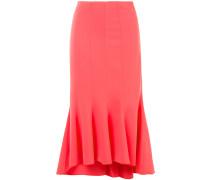 ruffled asymmetric skirt