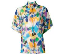 Hemd mit Wasserfarbeneffekt