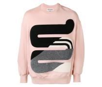 appliqué sweater