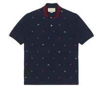 Poloshirt mit Symbolen