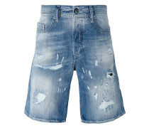 Jeans-Shorts in Distressed-Optik - men