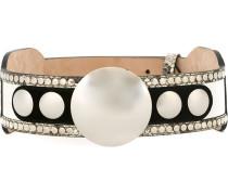 embellished belt - women - Leder/Metall