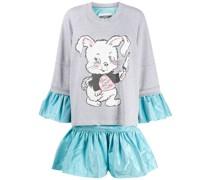 Kleid mit Pullover-Effekt