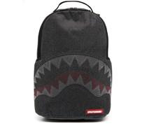Verzierter Rucksack mit Hai