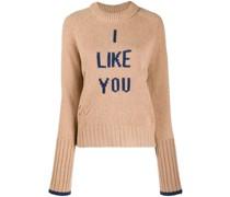 'I like You' Merinopullover