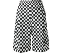 Shorts mit Schachbrettmuster - men