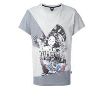 T-Shirt mit Lady-Print