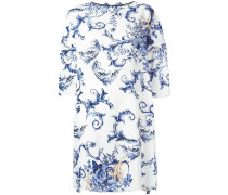 Florales Kleid mit Schleifenverschluss - women