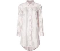 Hemdkleid mit Streifen - women