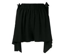 - scalloped handkerchief hem shorts - women