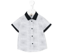 mini logo print shirt - kids