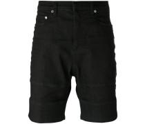Jeans-Shorts mit Ziernähten - men