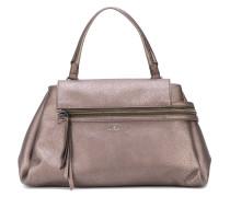 Metallische Handtasche - women - Calf