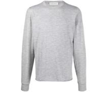crew-neck cashmere knit jumper