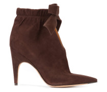 front knot ankle boots - women
