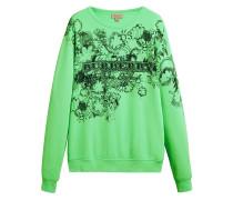 Sweatshirt mit Skizzen-Print