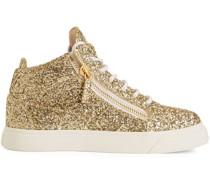 Kriss High-Top-Sneakers mit Glitter
