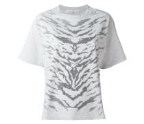 T-Shirt mit Zebra-Print - women - Baumwolle - M