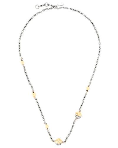 Halskette mit Intrecciato-Muster