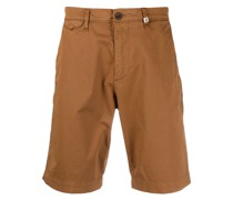 Chino-Shorts mit Logo
