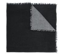 Schal mit ausgefransten Fransen