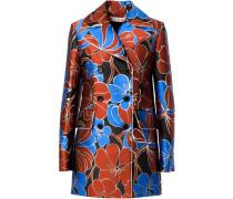 Mantel mit Blüten-Print