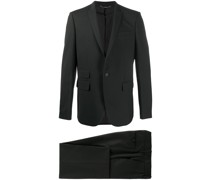 Einreihiger Anzug mit Taschen