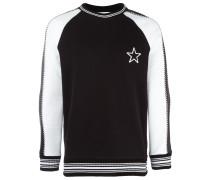Sweatshirt mit Sternstickerei - men