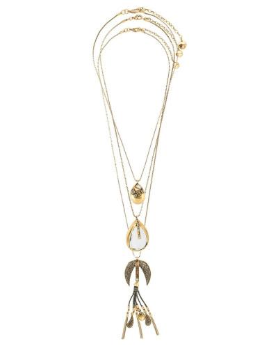 Set aus drei Halsketten