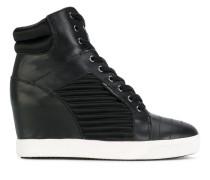 High-Top-Sneakers mit Keilabsatz