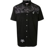 AAPE BY *A BATHING APE® Hemd mit Logo