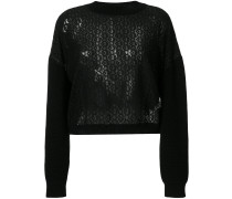 knitted lace sweater