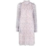 Tunika-Kleid mit abstraktem Muster