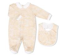 Pyjama mit Zickzackmuster - kids - Baumwolle