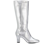 Spitze Metallic-Stiefel