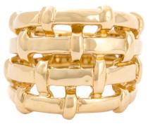 18kt vergoldeter 'Marella' Ring