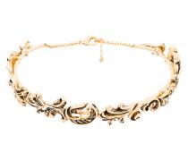 paisley choker necklace