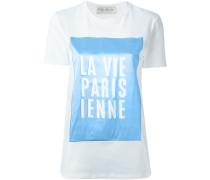 """T-Shirt mit """"La Vie Parisienne""""-Patch"""