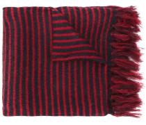 Mp Massimo Piombo Gestreifter Schal mit Fransen